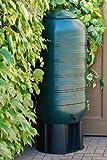 Kreher XXL Regentonne aus Kunststoff mit 250 Liter Volumen inklusive Stand,...